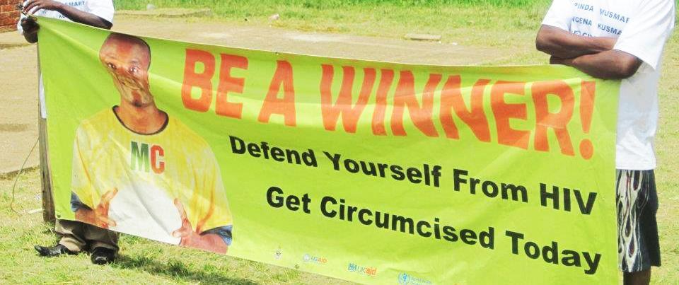 Campagne de circoncision au Zimbabwe