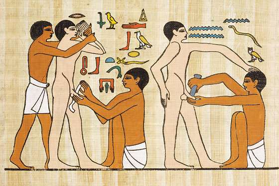 Circoncision en Egypte antique