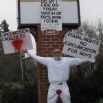 Manifestation contre la circoncision aux Etats-Unis