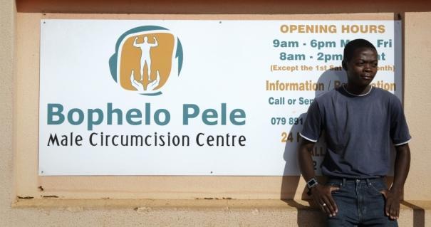 Centre de circoncision masculine en Afrique du Sud