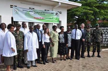 Lancement du prepex au Rwanda