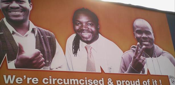Campagne pour la circoncision masculine au Swaziland