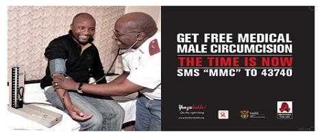Campagne de circoncision en Afrique du Sud