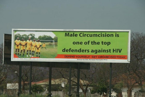 Propagande pro-circoncision au Zimbabwe