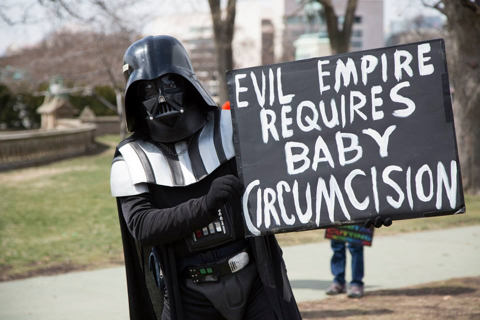 Evil Empire Requires Baby Circumcision