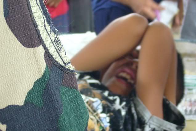 Circoncision d'un garçon Philippin