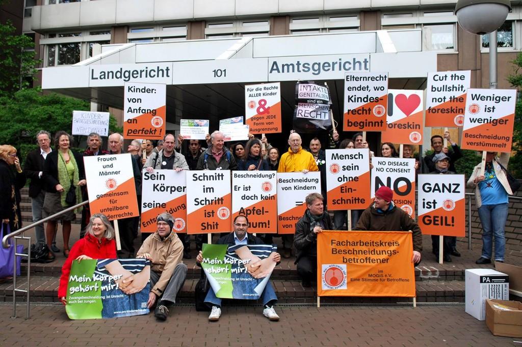 Intactivistes allemands à Cologne (2014)