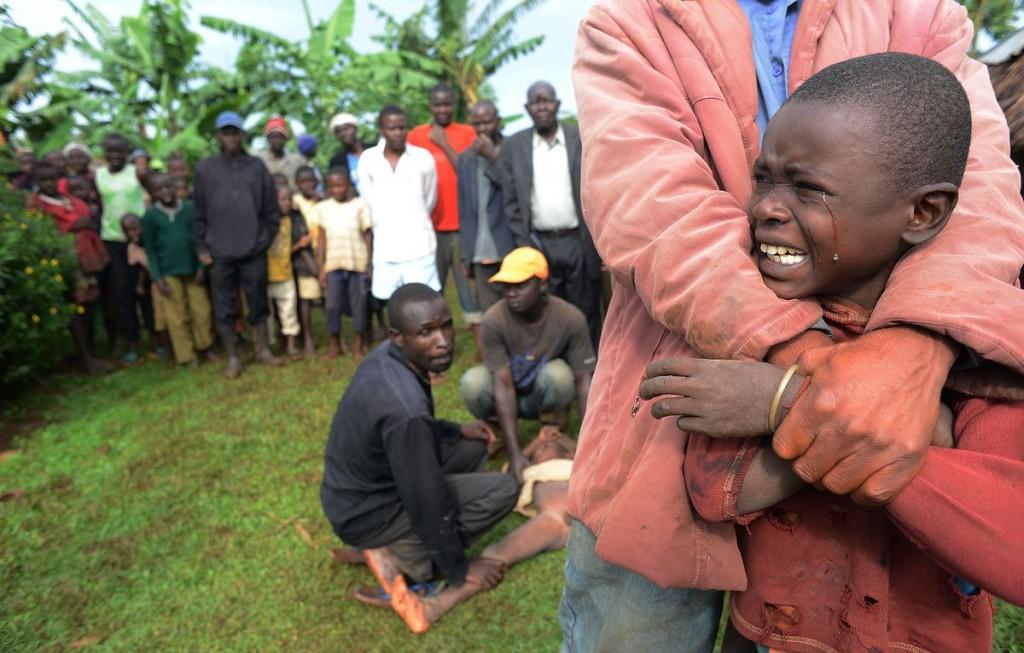 Circoncision de jeunes garçons au Kenya