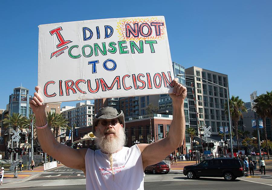I did not consent to circumcision