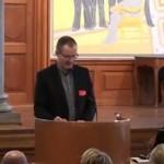 Morten Frisch au Parlement danois lors d'une audition sur la circoncision