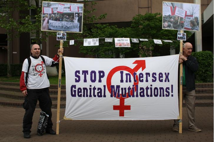 autonomie génitale intersexes allemagne 2015