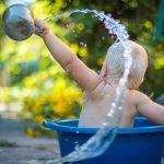 bain bebe garcon hygiene