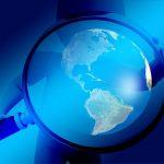 observation de la planète terre à la loupe